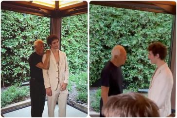 Tancredi ha incontrato il re della moda Giorgio Armani: ecco perché!