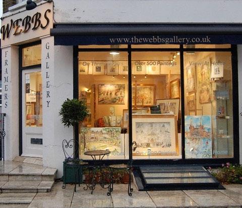 Webbs Fine Art Gallery exterior