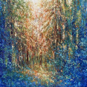 Forest walks 80x80cm