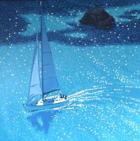 Sailing on by