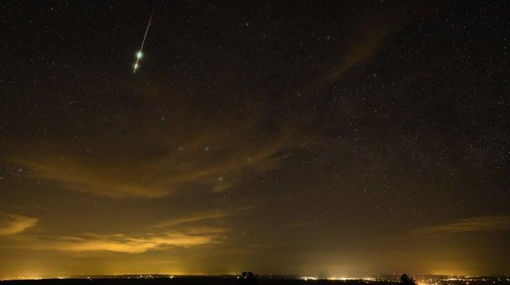 meteorite explosion