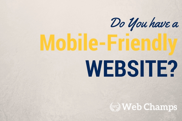 Do you have a Mobile-Friendly Website?