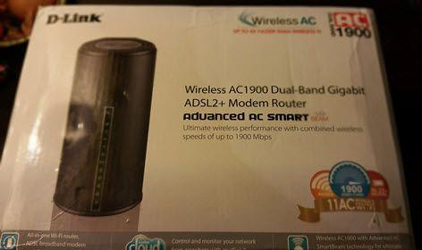 confezione D-Link DSL-3590