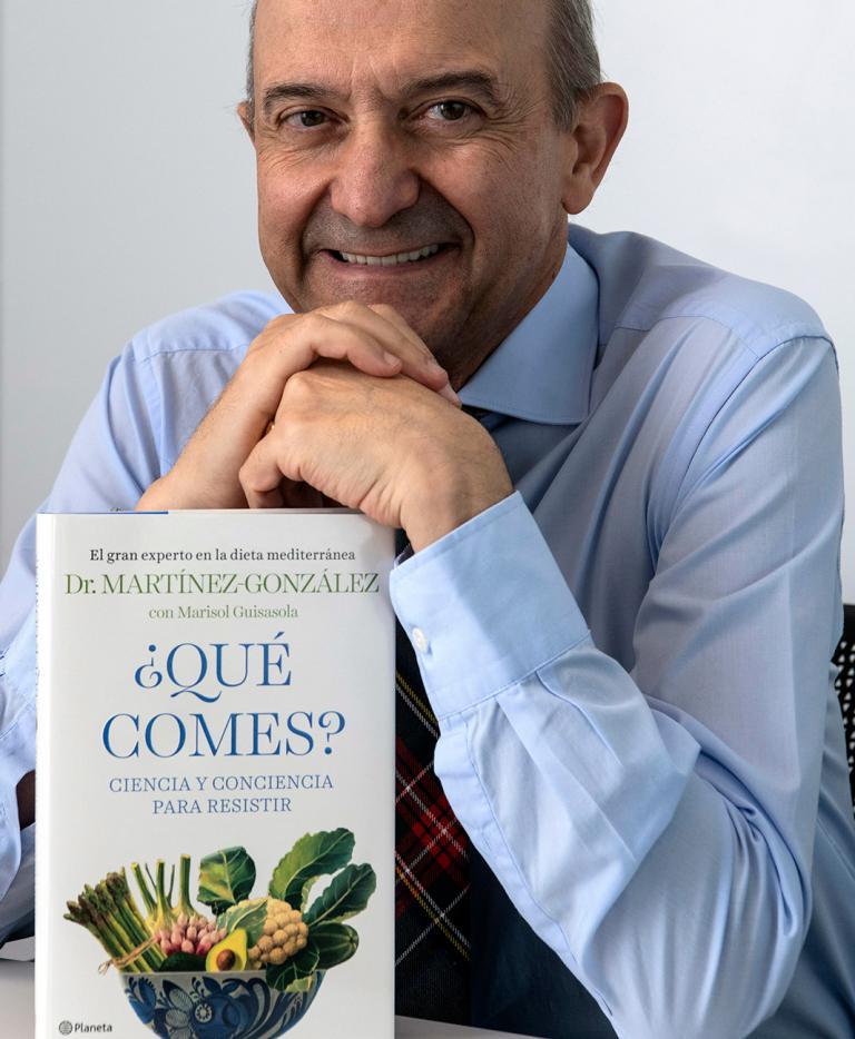 Dr. Miguel Ángel Martínez-González coautor de ¿qué comes?