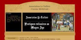[site] Développement du site internet pour une association de cuisine médiévale