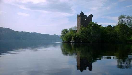 Le lac du Loch Ness