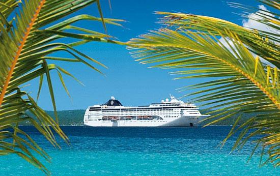 Le MSC Lirica aux Caraïbes