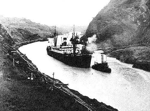 Le Canal de Panama en 1914 Photo 2