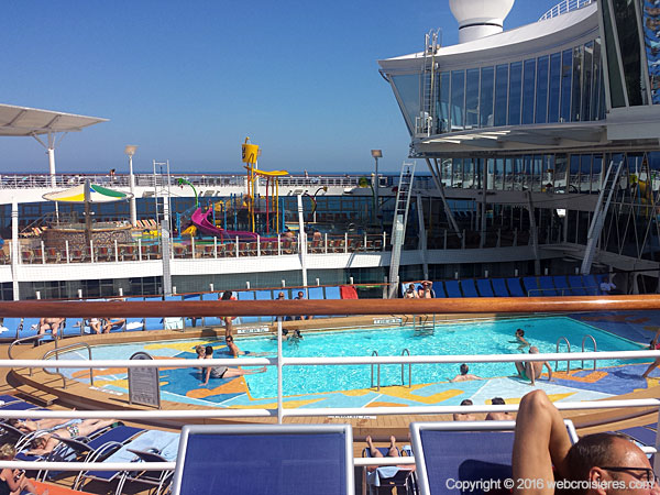 Piscine de l'Harmony of the Seas