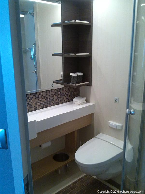 La salle de bain flambant neuve Harmony of the Seas