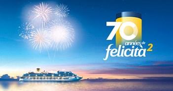 Anniversaire Costa Croisières : la compagnie va fêter ses 70 ans