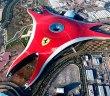 Vue aérienne du Ferrari World d'Abu Dhabi