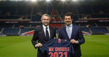 MSC Croisières devient partenaire du PSG (Paris Saint-Germain)