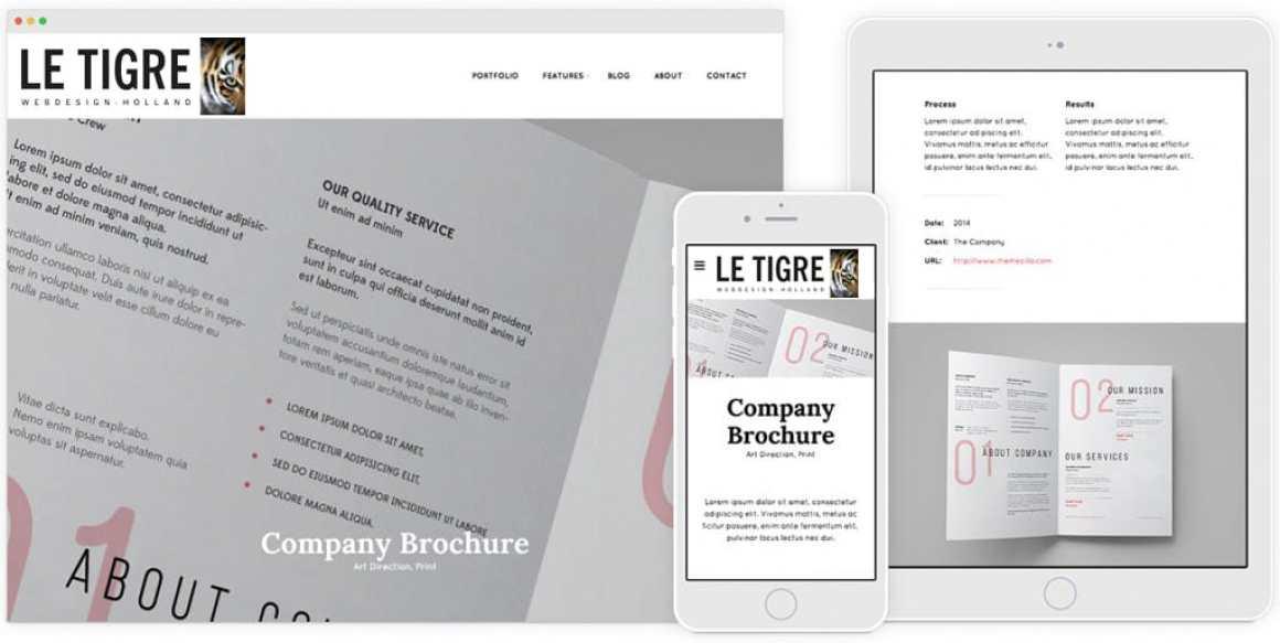 volledg responsive websites