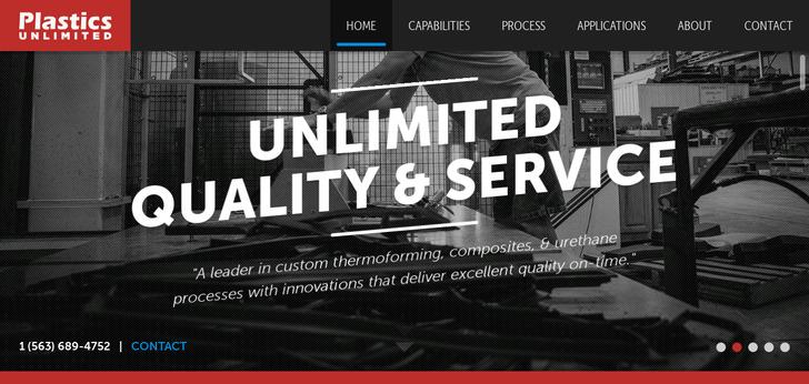 Best Industrial Websites Web Design Inspirations
