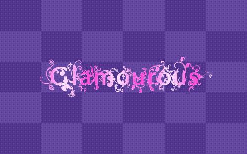 Amazing Glamourous Text image 11