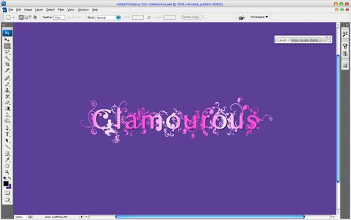 Amazing Glamourous Text image 13
