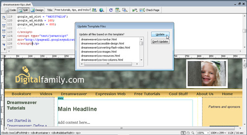 Insert Google Ads with Dreamweaver image 9
