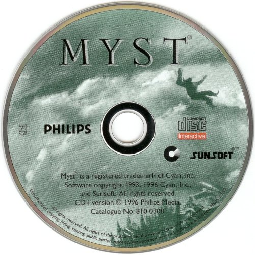 A Myst CD-ROM in the '90s
