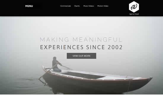 Agency Visual Video Portfolio Muse Theme