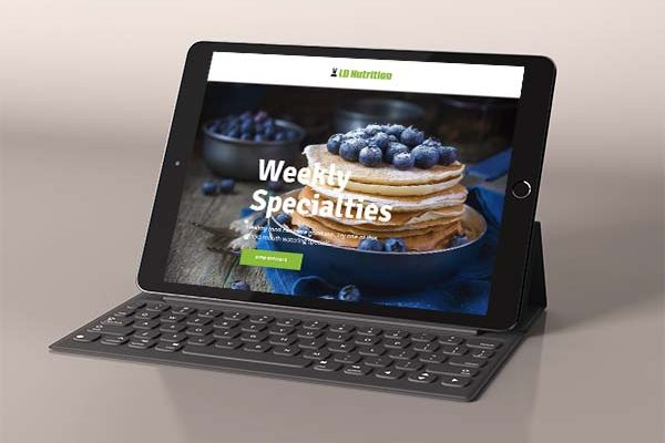 LD Nutrition Tablet View