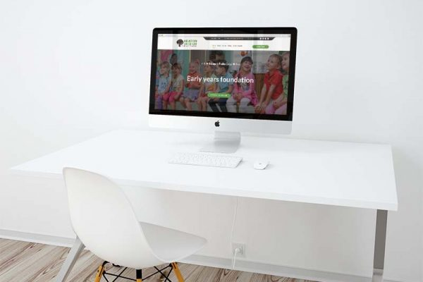 Heaton Lodge Desktop View