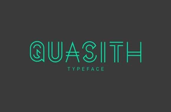 Quasith Regular free font