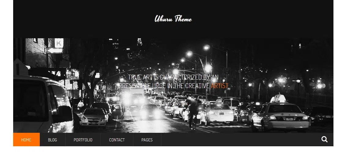 Uhuru - Responsive Multi-Purpose Concrete5 Theme
