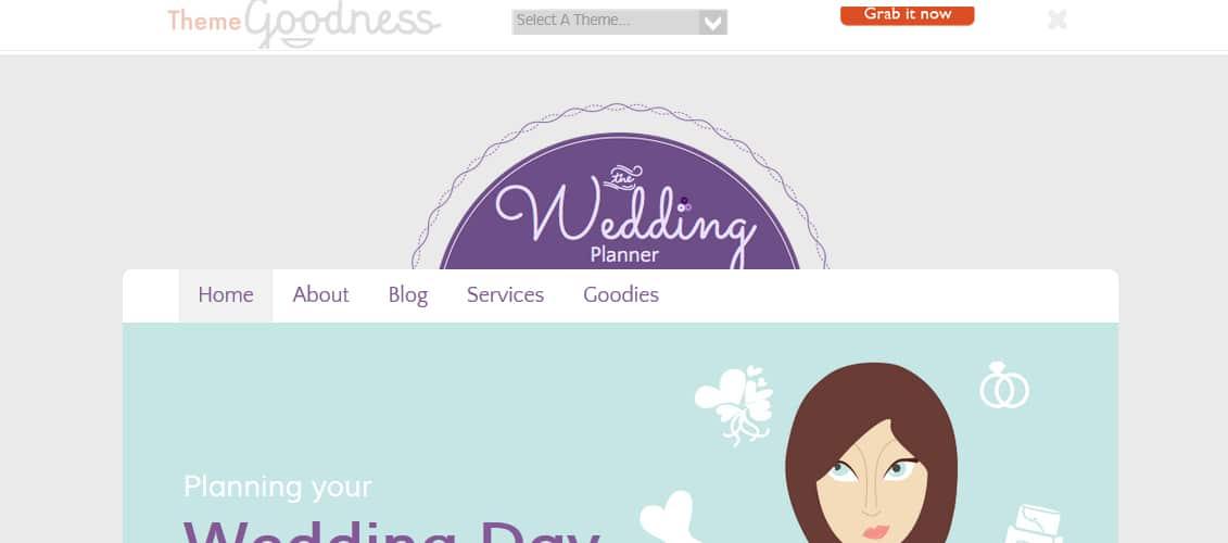 Wedding Planner Theme For Concrete5
