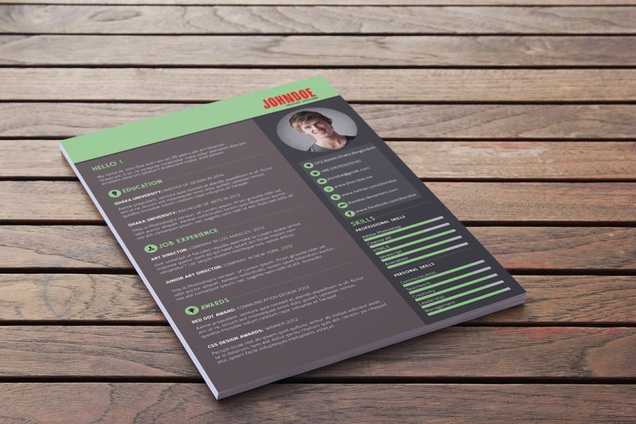 Free Download  Free Resume Template   Webdesigner Depot Download this r    sum     template for free  r4