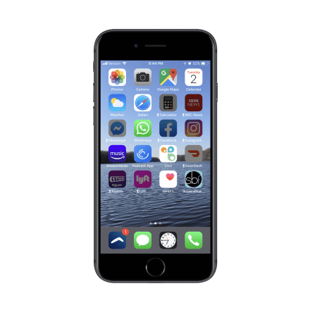 iPhone Distraction Free