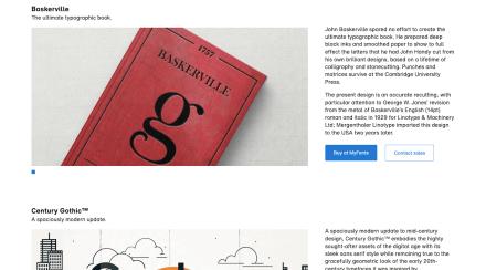 Monotype Fonts