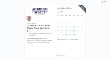 Calendly - Schedule Client Meeting