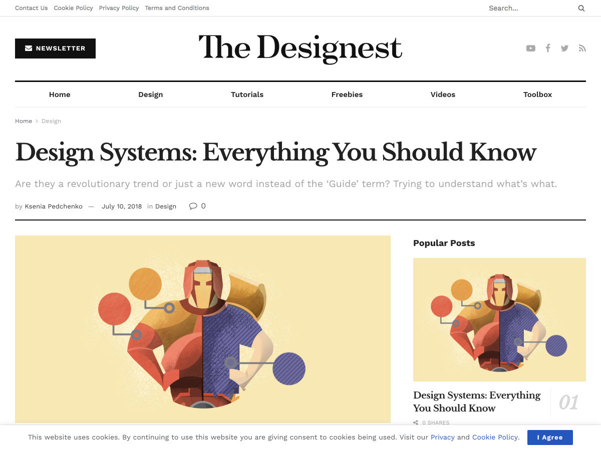 Popular design news of the week: July 9, 2018 – July 15, 2018