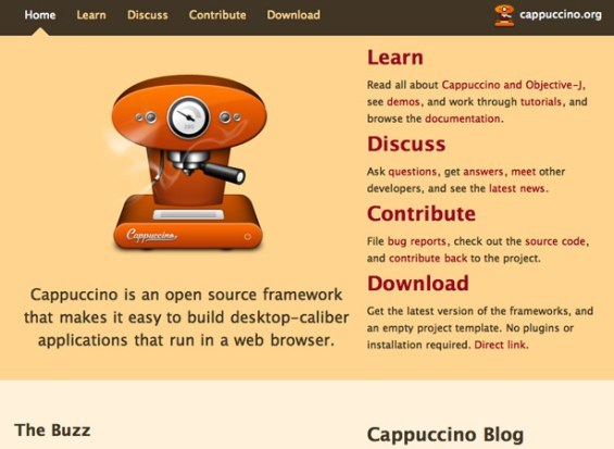 cappuccino 50 giao diện đẹp của website doanh nghiệp