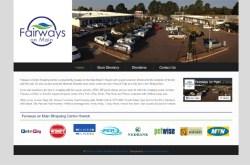 shopping mall website design