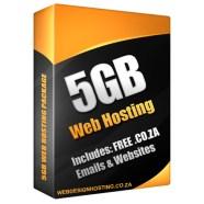 web hosting 5gb