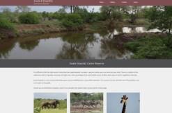 game reserve web design