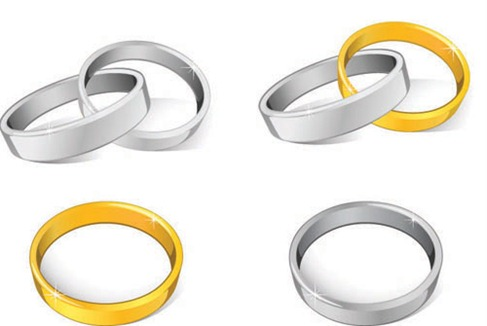 Image Result For Wedding Rings Vector Art