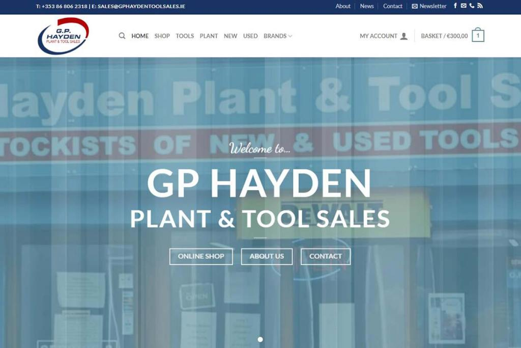 GP Hayden Tool Sales