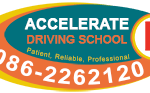 Accelerate Driving School Logo