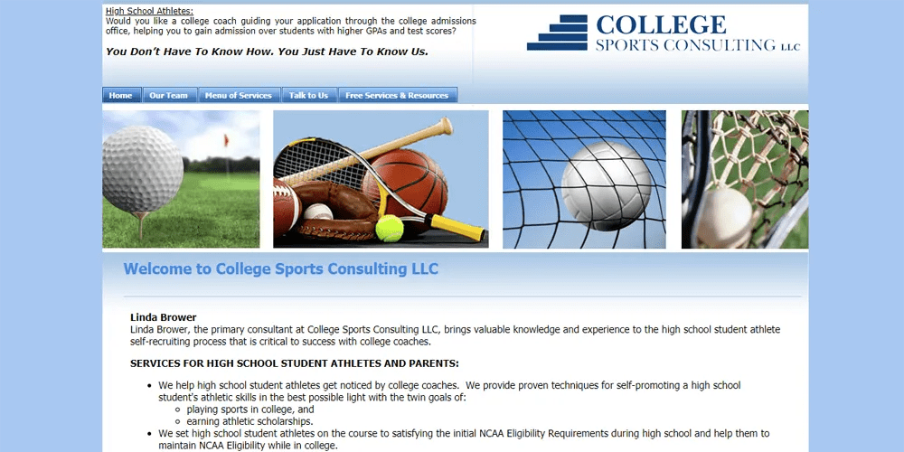 College Sports Consulting