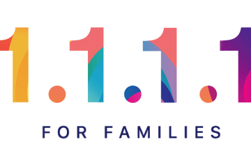 Logo 1.1.1.1 for Families