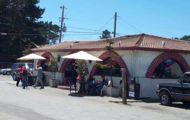 The original Tres Amigos, Half Moon Bay, California