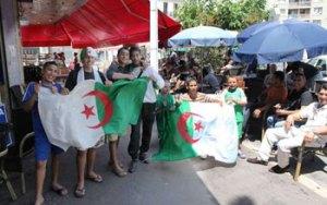 Touristes algeriens en Tunisie