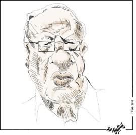 Béji Caïd Essebsi - déssin  El Berbech