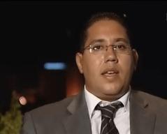 Mahmoud Baroudi, élu du Groupe démocratique à l'Assemblée Constituante