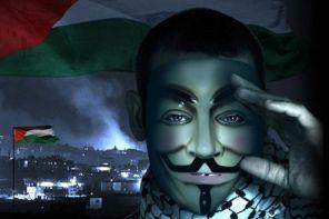 Anonymous-Israël (photo - lefigaro.fr)