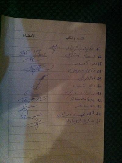 Liste des signataires 5sur5, Al Bawsala TN, 03-04-13 (2)