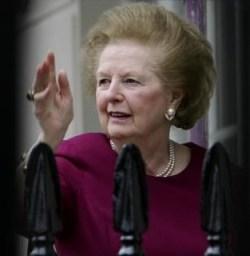 Margaret Thatcher (photo - francetvinfo.fr)